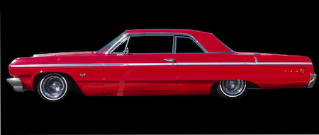 64 Impala Air Ride Suspenison Kit